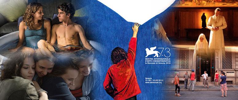 Elaborazione grafica per la 73.ma Mostra Internazionale d'Arte Cinematografica di Venezia