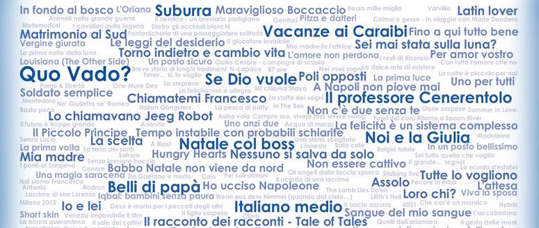 Tutti i numeri del cinema italiano