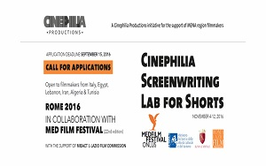 Cinephilia Screenwriting Lab for Shorts a Roma