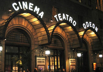 Foto del Cinema Odeon di Firenze