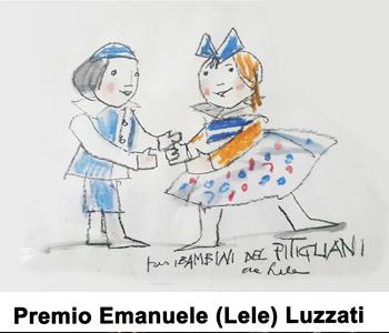Logo del Premio Emanuele Luzzati 2018