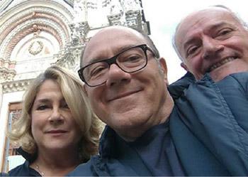 Foto di Carlo Verdone per il Premio Mario Verdone