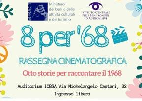 Rassegna Cinematografica 8 per 68