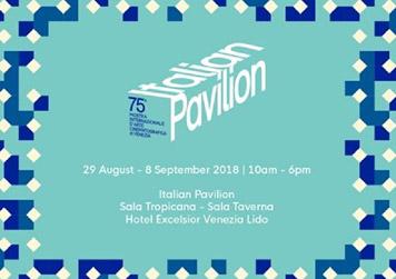 75esimo Italian Pavilion 2018