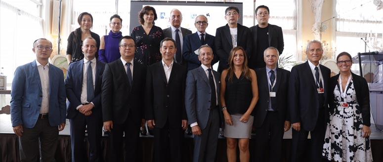 Foto di gruppo per Focus Cina 2018