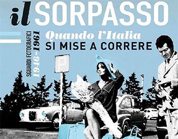 Copertina del Sorpasso, quando l'Italia si mise a correre