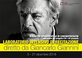 G. Giannini, Laboratorio intensivo di recitazione