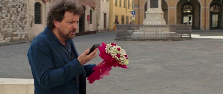 Fotogramma del film di Pieraccioni, Se son rose