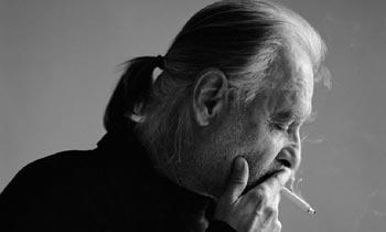 Il regista ungherese Béla Tarr