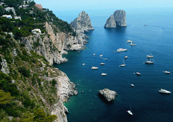 Vista di Capri
