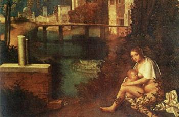 Famoso dipinto del Giorgione
