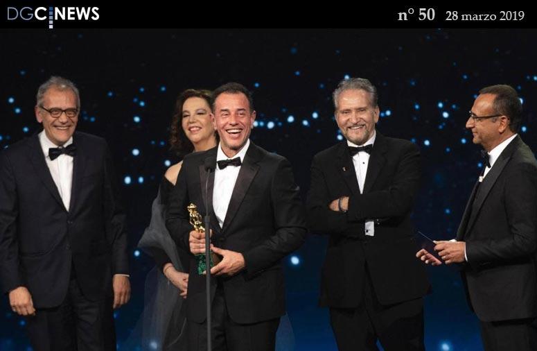 Premiazione David di Donatello 2019