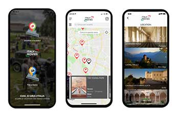 La nuova app di Italy for movies