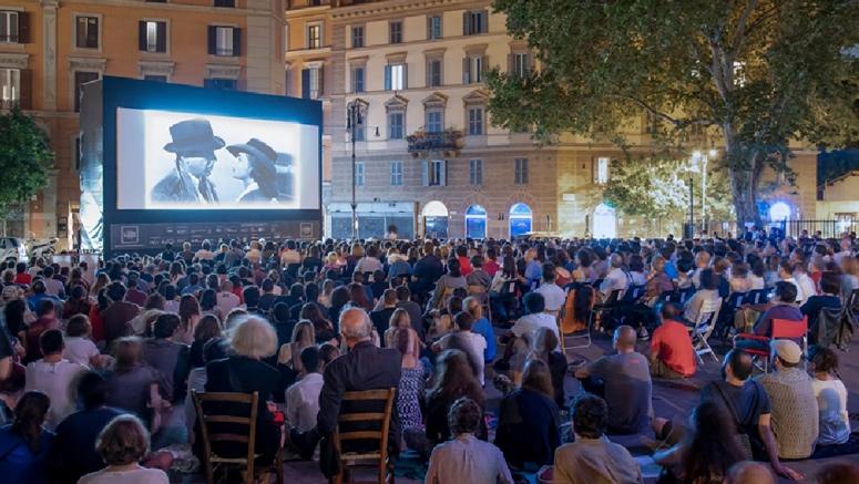 manifestazione Il Cinema in piazza - Roma