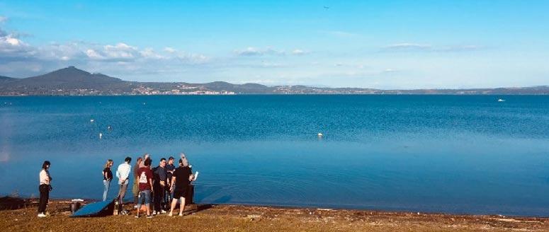 Lago di Bracciano, dal film Glassboy