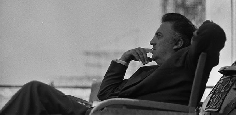 Federico Fellini in foto