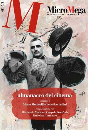 Copertina di Micromega, dedicata all'Almanacco del cinema