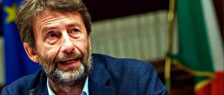 il Ministro Dario Franceschini in foto