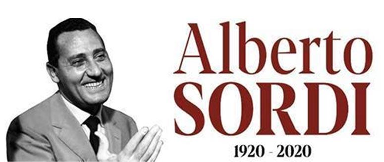 Mostra del centenario di Alberto Sordi