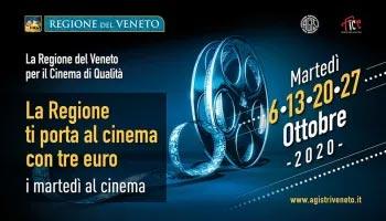 Veneto, la Regione ti porta al cinema