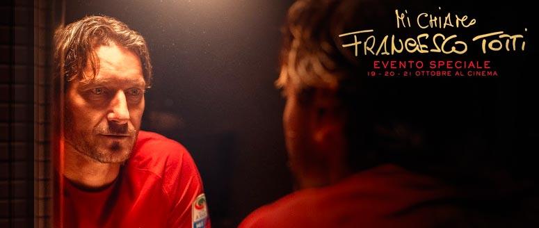 Cover del Film, Mi chiamo Francesco Totti