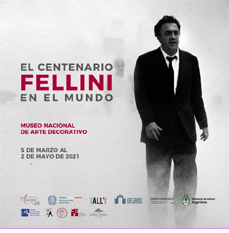 mostra 'Il Centenario. Fellini nel mondo'