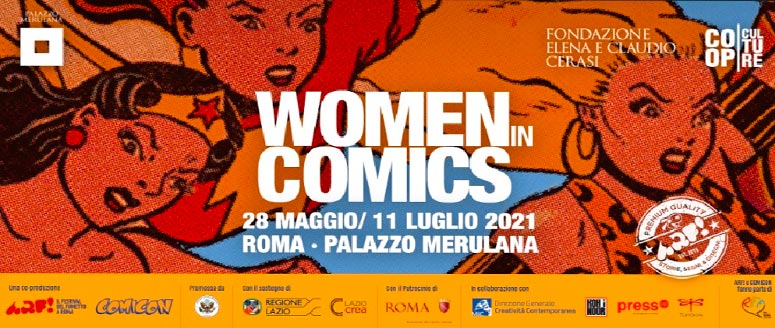 Woman in Comics cover
