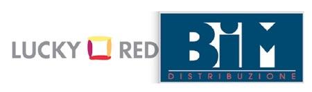 Loghi Lucky Red e Bim Distribuzione